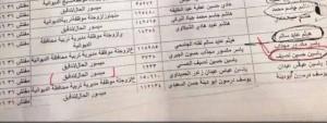 ورود اسم ياسين حسين ضمن قوائم ميسوري الحال