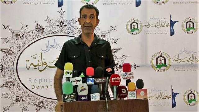 Journalist Tahseen Al-Zergani