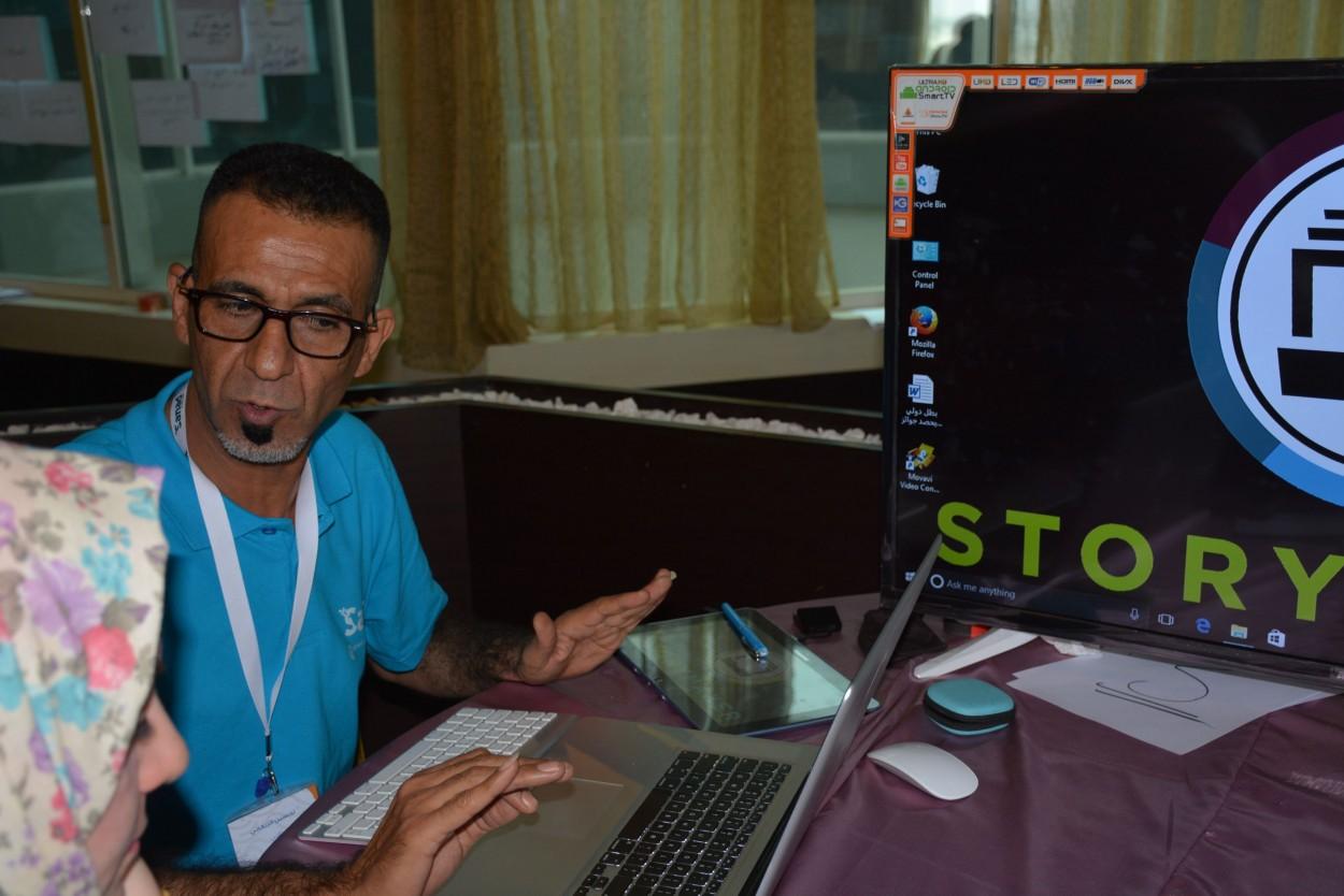 Journalist Tahseen AlZrikiny.
